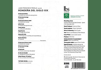 Juan Francisco Padilla, Esther Crisol - Rondeña del Siglo XIX  - (CD)