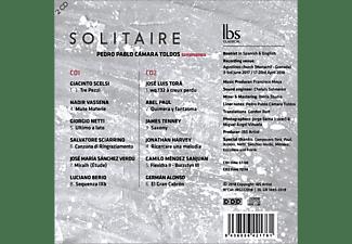 Pedro Pablo, Cámara Toldos - Solitaire  - (CD)