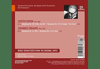 Otto Klemperer & Symphonieorchester Des Bayerischen Rundfunks - Haydn Sinfonie 101/Brahms Sinfonie 4  - (CD)