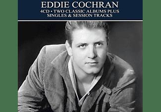 Eddie Cochran - TWO CLASSIC ALBUMS PLUS SINGLES And SESSION TRACKS  - (CD)