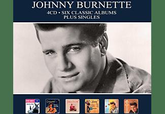 Johnny Burnette - SIX CLASSIC ALBUMS PLUS SINGLES  - (CD)