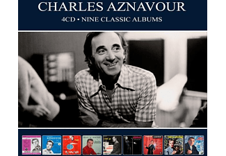 Charles Aznavour - NINE CLASSIC ALBUMS  - (CD)