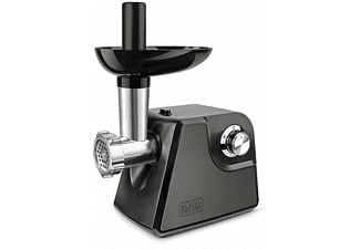 Picadora - Black&Decker BXMM1000E, 1000 W, 3 discos cortadores, Accesorio para relleno, Inox