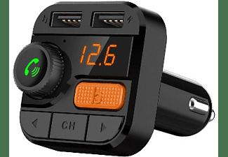 Transmisor FM - Vieta Pro Route MFV-777BT Manos libres, Bluetooth, Negro