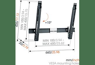 VOGEL´S THIN 515  Wandhalterung, max. 65 Zoll, Neigbar, Schwarz
