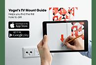VOGEL´S Vogel's WALL 3345 TV-Wandhalterung für 102-165 cm (40-65 Zoll) Fernseher, drehbar und neigbar Wandhalterung, Weiß