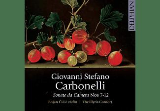 The Illyria Consort, Bojan Cicic - Sonate da Camera 7-12  - (CD)