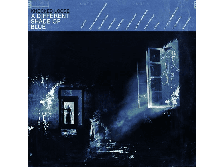 Knocked Loose - A Different Shade Of Blue (White+Blue Vinyl) [Vinyl]
