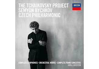 Semyon Bychkov - Tchaikovsky: Complete Symphonies And Complete Piano Concertos CD