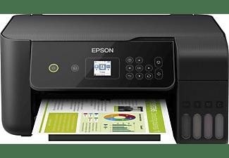 Impresora multifunción - Epson EcoTank ET-2720, Inyección de Tinta, 33 ppm 5760 x 1440 dpi, Negro