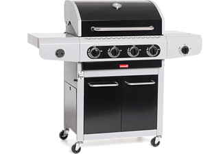 BARBECOOK Gasbarbecue Siesta 412 Black Edition (2239241020)