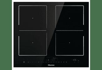 Encimera - Hisense I6456C, Inducción, 4 zonas, 21 cm, Negro