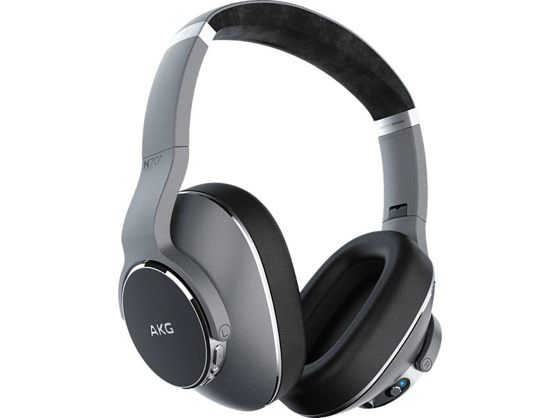 AKG N700NC WIRELESS, Over-ear Kopfhörer Bluetooth Silber