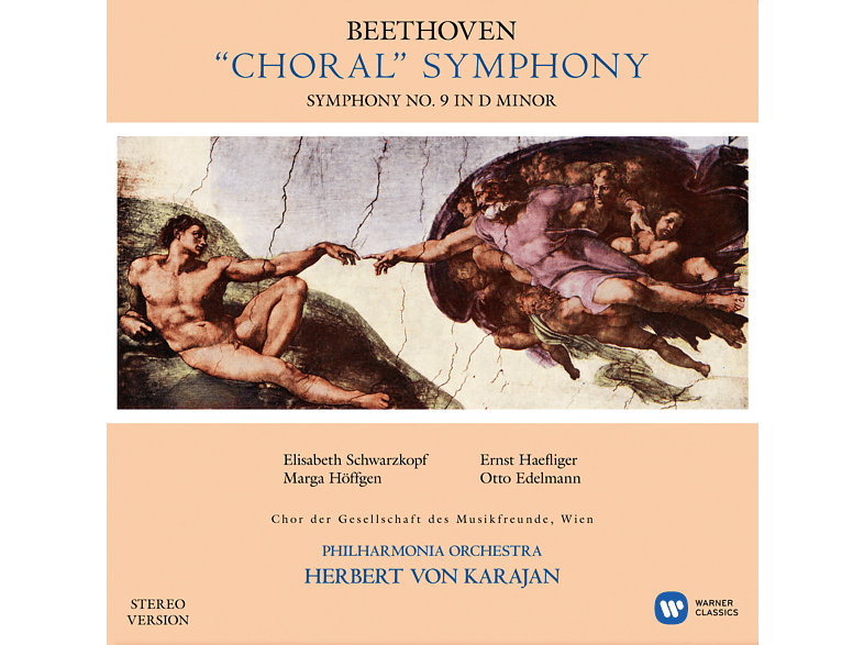 Various Artists, Philharmonia Orchestra, Chor der Gesellschaft der Musikfreunde in Wien - SINFONIE 9 [Vinyl]