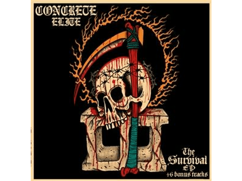 Concrete Elite - THE SURVIVAL EP+BONUS [CD]
