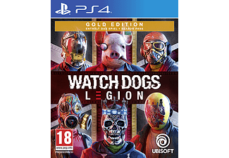 PS4 - Watch Dogs : Legion - Édition Gold /Multilingue