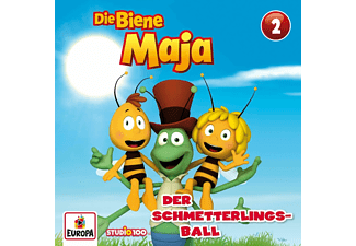 Biene Maja - 02/Der Schmetterlingsball (CGI)  - (CD)