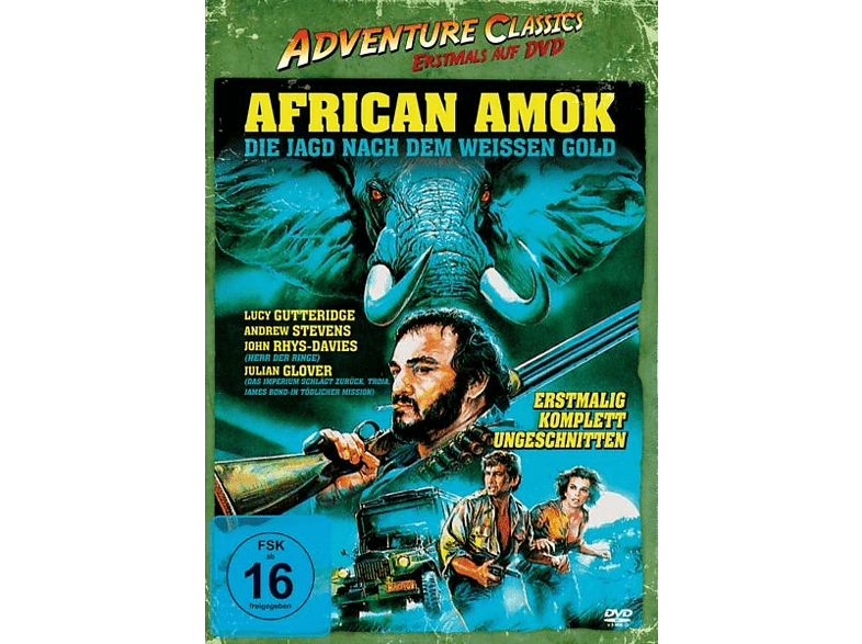 African Amok-Kinofassung [DVD]