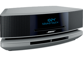 BOSE Wave music system IV, silber SoundTouch Sockel