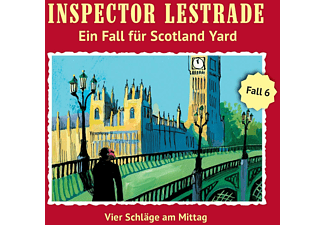 Inspector Lestrade - Vier Schläge am Mittag (Folge 6)  - (CD)