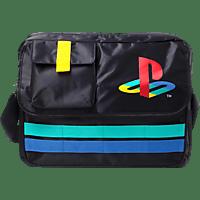 DIFUZED Playstation Messenger Tasche Retro Logo Tasche, Schwarz