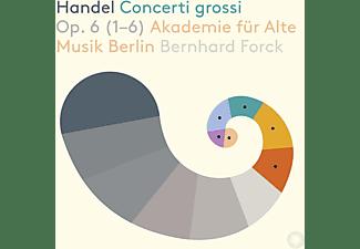 Bernhard Forck, Akademie Für Alte Musik Berlin - Händel: Concerti grossi op.6 (1-6)  - (SACD)