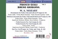 Bruno Giuranna, VARIOUS - Franco Gulli,Vol.1 [CD]