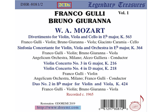 Bruno Giuranna, VARIOUS - Franco Gulli,Vol.1  - (CD)