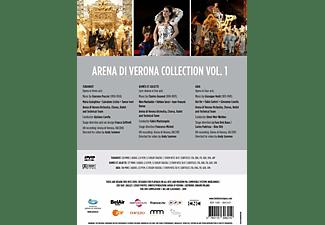 VARIOUS, Arena Di Verona Orchestra, Chorus And Ballet - Arena di Verona Collection,Vol.1  - (DVD)
