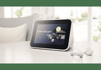 LENOVO Smart Clock Smart Speaker, Grau