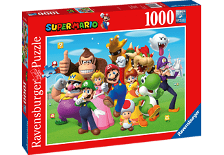 RAVENSBURGER Super Mario Puzzle Mehrfarbig