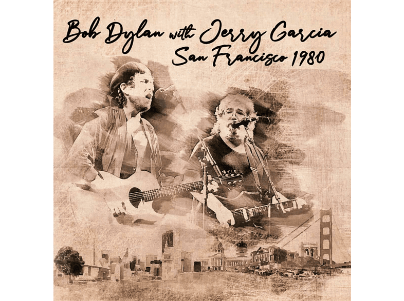 Bob With Jerry Garcia Dylan - San Francisco 1980 [CD]