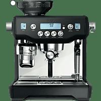 SAGE Espressomaschine the Oracle in Matt Schwarz SES980BTR4EEU1