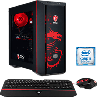 HYRICAN MSI DRAGON EDITION 6373, Gaming PC mit Core™ i5 Prozessor, 16 GB RAM, 480 GB SSD, 1 TB HDD, Geforce® GTX 1660 Ti, 6 GB