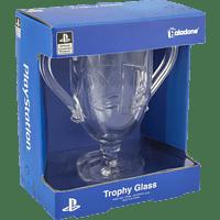 PALADONE PRODUCTS Playstation Trophäen Glas Trinkglas, Transparent