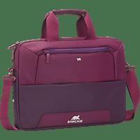 RIVACASE Claret Notebooktasche, Aktentasche, 14 Zoll, Lila/Purpur