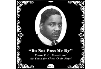 The Youth For Christ Choir, PASTOR T.L Barrett - Do Not Pass Me By Vol.2  - (Vinyl)