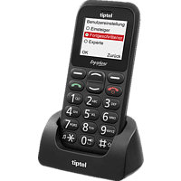 TIPTEL Ergophone 6310 Schwarz, Seniorenhandy
