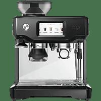 SAGE SES880BKS4EEU1tThe Barista Touch Espressomaschine Glänzend Schwarz