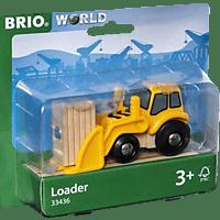 BRIO Radlader RW Rolling Stock, Mehrfarbig