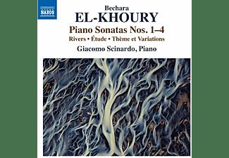 Giacomo Scinardo - Klaviersonaten 1-4  - (CD)