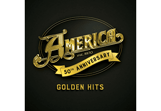 America - Golden Hits - 50th Anniversary (CD)