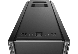 BE QUIET BG027 Silent Base 601 PC Gehäuse, Schwarz/Silber