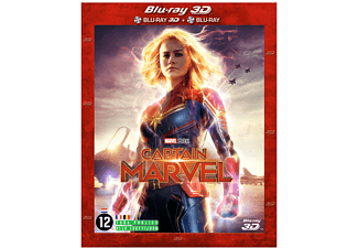 Captain Marvel - 3D Blu-ray