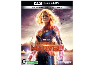 Captain Marvel - 4K Blu-ray
