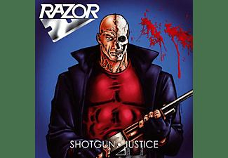 Razor - Shotgun Justice (Colored Vinyl)  - (Vinyl)