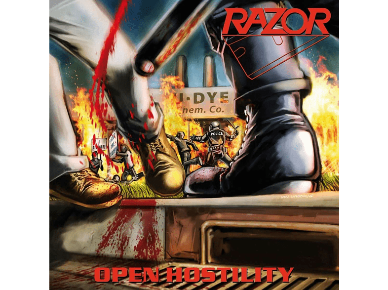 Razor - Open Hostility (Colored Vinyl) [Vinyl]