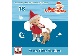 Unser Sandmännchen - 018/Unsere lieben Haustiere  - (CD)
