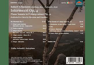 Tullia Melandri - Intermezzi op.4/Klaviersonate op.11  - (CD)