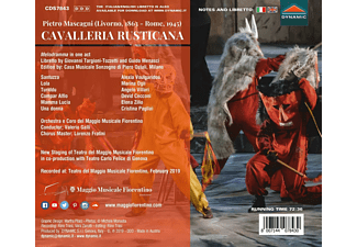 VARIOUS, Coro E Orchestra Del Maggio Musicale Fiorentino - Cavalleria Rusticana  - (CD)
